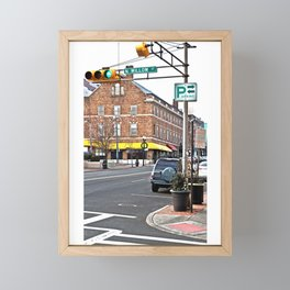 Bloomfield and North Willow Framed Mini Art Print