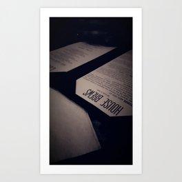 Dark Brew Art Print