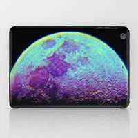 the moon iPad Cases featuring Moon by Starstuff