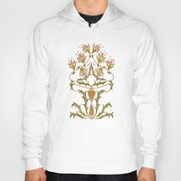 art nouveau Hoodies featuring art nouveau by Ariadne