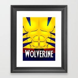 Wolverine X-Men Framed Art Print