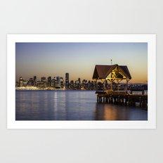 Vancouver, BC Art Print