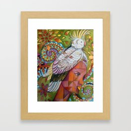 kingpigeon Framed Art Print