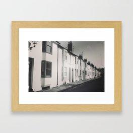 Terraced Houses Framed Art Print