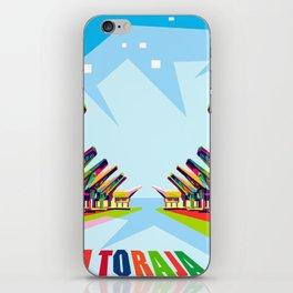 Toraja Land In Pop Art iPhone Skin