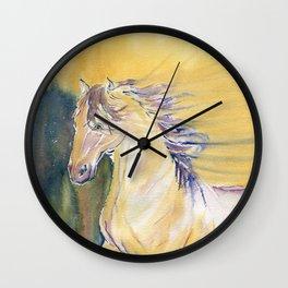 Horse Spirit Wall Clock