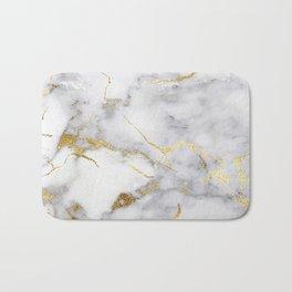 Italian gold marble Bath Mat