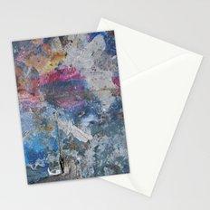PAINTING STUDIO FLOOR-DUMBO, BROOKLYN, NY Stationery Cards