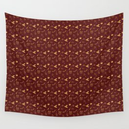 Gryffindor Pattern Wall Tapestry