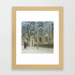 Muteness Framed Art Print