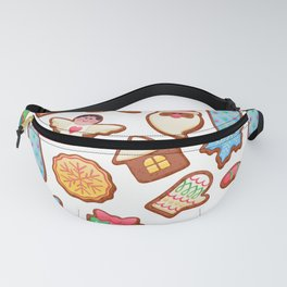 Christmas Cookies Fanny Pack