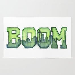 Legion of Boom Seattle 12th Man Art Rug