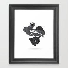 DuraAce Di2 Rear Derailleur Framed Art Print