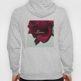 LOVE'S Red Rose Hoody