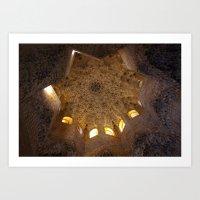 Star of Alhambra Art Print