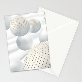 Les boules de neige Stationery Cards