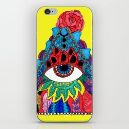 All Seeing, Complete Being iPhone Skin