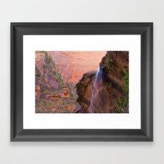 Zion III Framed Art Print