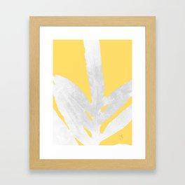 Ferns and Tangerines Framed Art Print
