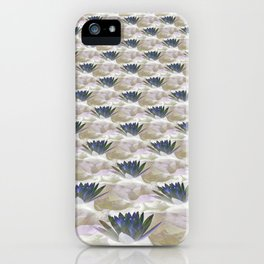 Lilies in the Clouds Fractal - IA iPhone Case