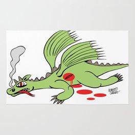 Dead Dragon Rug