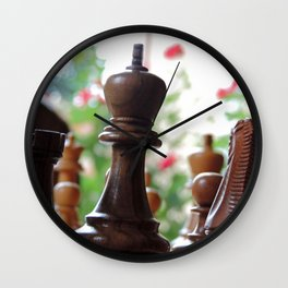 The Queen & Her Roses Wall Clock
