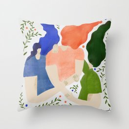 It's alright my friend Throw Pillow
