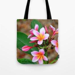 Plumeria Floral Art - Tropical Queen - Sharon Cummings Tote Bag