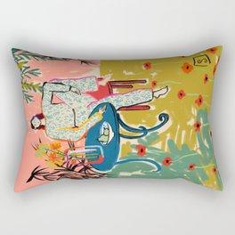 POPPY SEASON Rectangular Pillow