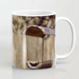 blue tit flying Coffee Mug