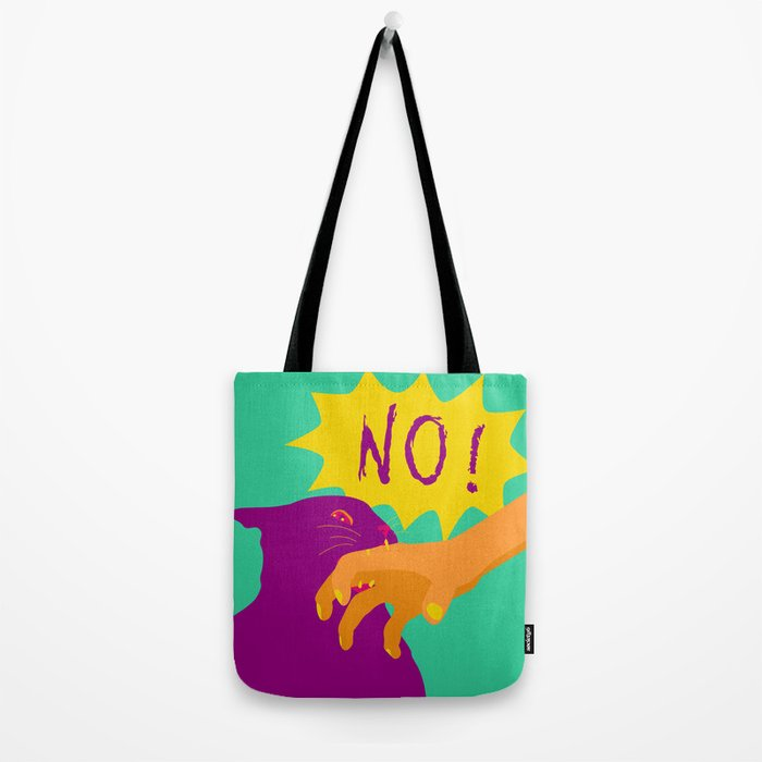 Pussy Bites Back Tote Bag