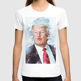 Donald Trump kiss T-shirt