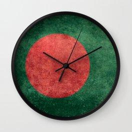 Flag of Bangladesh, Vintage Version Wall Clock