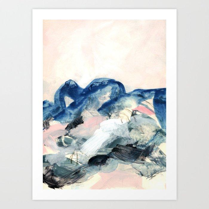 abstract painting II Art Print by patternization   Society6 - photo #44