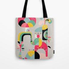 Jungle of elephants Tote Bag