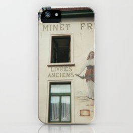 Livres anciens, Brussels iPhone Case