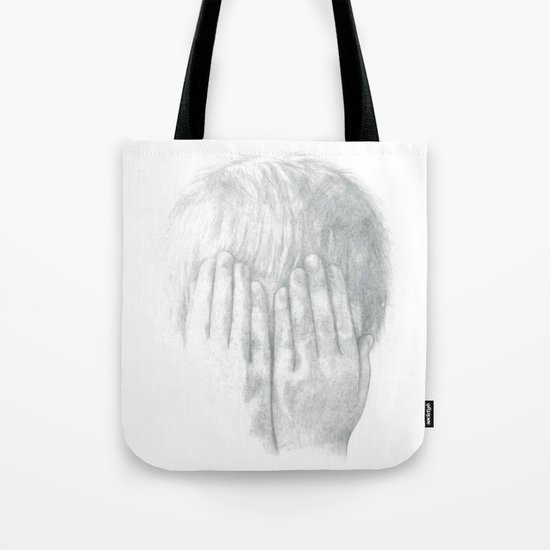 You Can't See Me Tote Bag