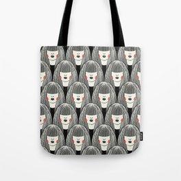 Lady Pattern Tote Bag