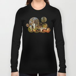 Wayside shrine and a bench | architectural photography Long Sleeve T-shirt