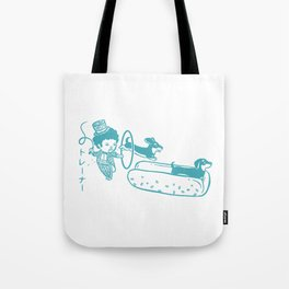 OH MY GOR - Hot Dog Trainer Tote Bag