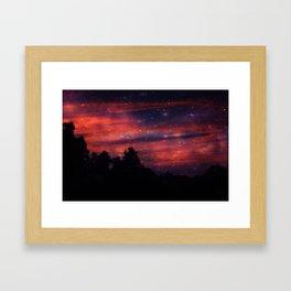 Red Mist Framed Art Print