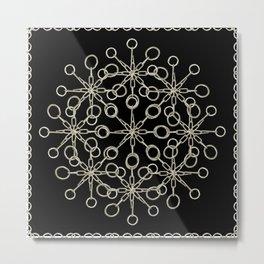 Ornate Chained Atrwork Metal Print