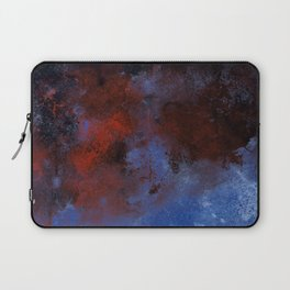 Turmoil - Acrylic Abstract Painting Laptop Sleeve