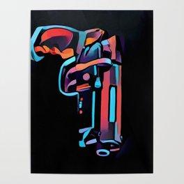 Deckards Blaster Poster