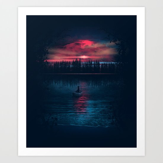 The World Beneath Art Print