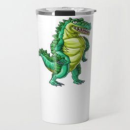 Crocodile Grandpa Alligator Reptile Animal Travel Mug