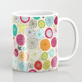 umbrellas ivory Coffee Mug