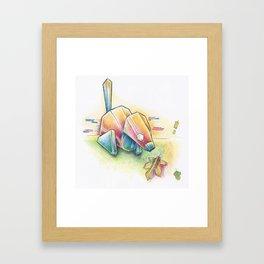 Porygon Framed Art Print