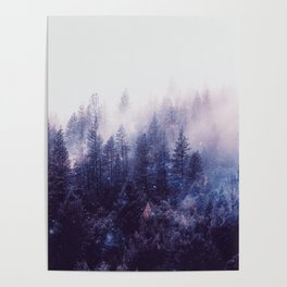 Misty Space Poster