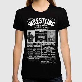 18-B Memphis Wrestling Window Card T-shirt
